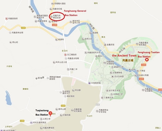 Fenghuang Bus Station Bus Schedule Map Amp Transportation