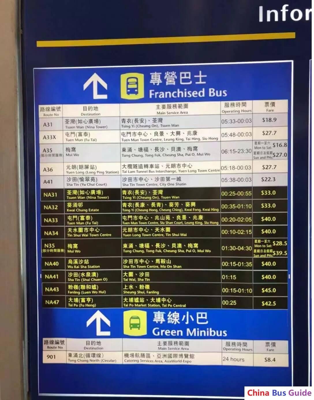 Hong Kong-Zhuhai-Macau Bridge Hong Kong Port Bus Terminal